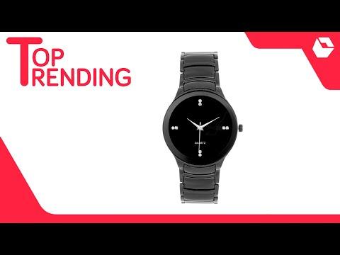 Designer Black Watch For Men & Boys | Best Selling Watches