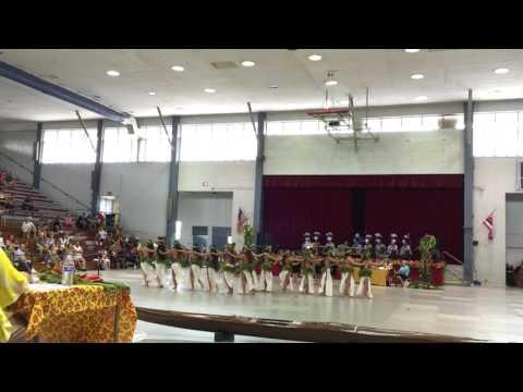 2016 Hilo Tahiti Fete - To'a Here Tahitian Revue - Vahine Ote