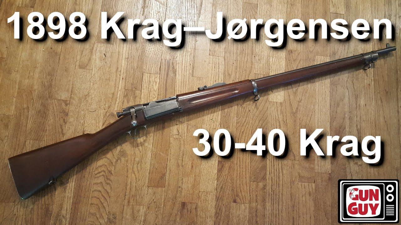 The Incredible 1898 Krag Jorgensen Rifle in 30-40 Krag