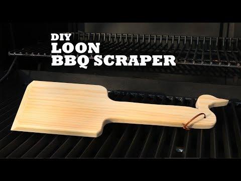 DIY Loon BBQ Scraper