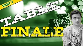 Analyse Table Finale Main Event (150€ buy-in) #1