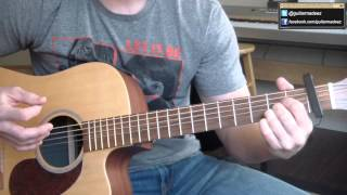 Waylon Jennings - Good Ol Boys - Dukes Of Hazzard Theme Song - GuitarTutorial