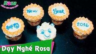 Cách làm bánh Cupcake nho 12 con giáp cute