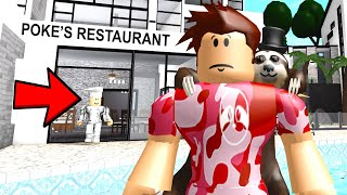 I Hired A Chef For My Restaurant.. His EVIL Plan Will Shock Us All! (Roblox)