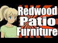 Redwood Patio Furniture Pros and Cons