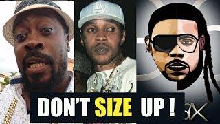 Don't SIZE UP! Kartel DISS Beenie Man | Squash Ft Kartel