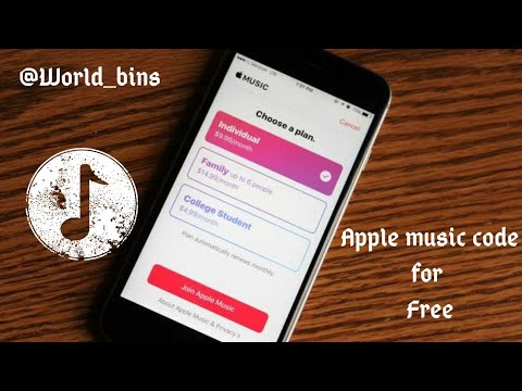 How to Get Apple music code for free (Legal method 🙂)