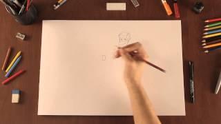 Cómo crear tu propio personaje de dibujos animados : Tips de dibujo thumbnail
