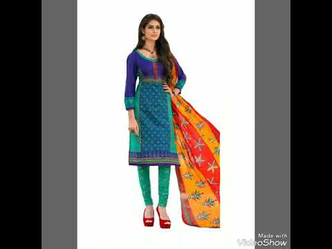 Indian Ethnic Wear Salwar Suit Dupatta