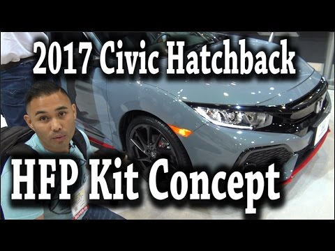 2017 Honda Civic Hatchback HFP Accessory KIT Concept