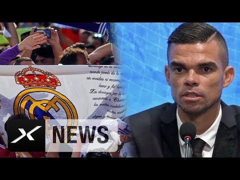 "Pepe: ""War der Liebling der Real-Fans"" | Besiktas Istanbul | SüperLig"