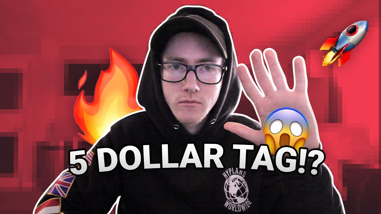 HOW TO MAKE A GOOD PRODUCER TAG FOR $5 IN 2019!