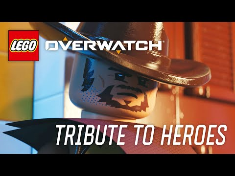 LEGO Overwatch - How Heroes Play Tribute Video thumbnail