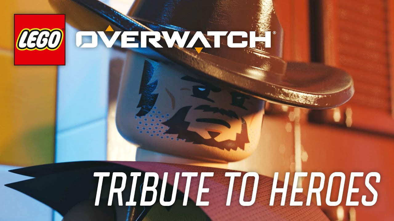 LEGO Overwatch - How Heroes Play Tribute Video