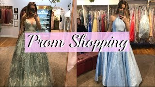 Prom Dress Shopping 2019!