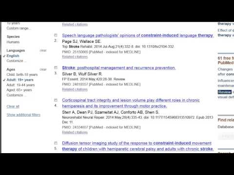 PubMed: Basic Search Tutorial