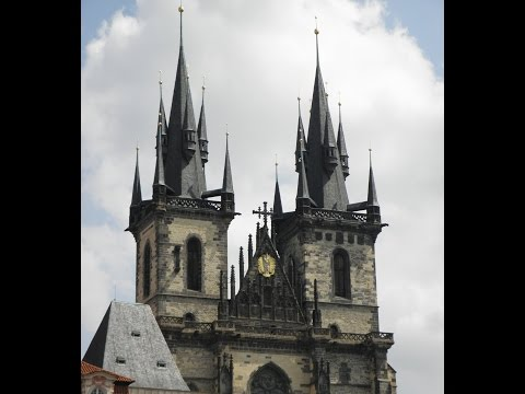 Prague Old Town Square Church of Our Lady before Tyn