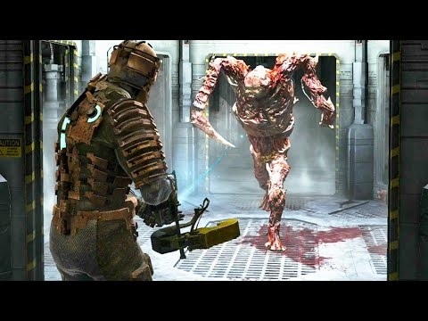 Dead Space - All Hunter Chases & Final Battle