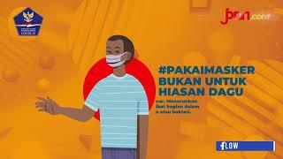 Ingat ya! Pakai Masker Bukan untuk Hiasan Dagu - JPNN.com
