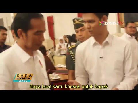 Trik Sulap, Kado Ulang Tahun bagi Presiden Jokowi