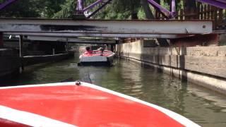 Knoebels Boats - July 6, 2014