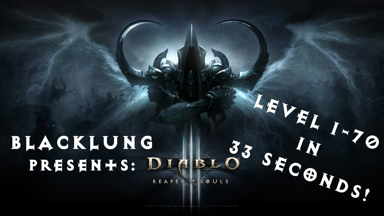 Diablo III Player Reaches Level 70 In 33 Seconds