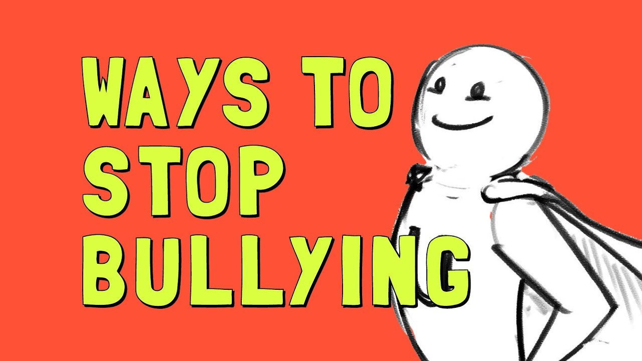 hight resolution of Ways to Stop Bullying - YouTube