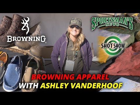 Browning Apparel With Ashley Vanderhoof SHOT Show 2018