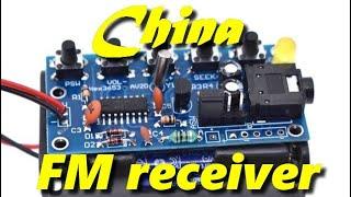 FM Receiver 76-108MHz