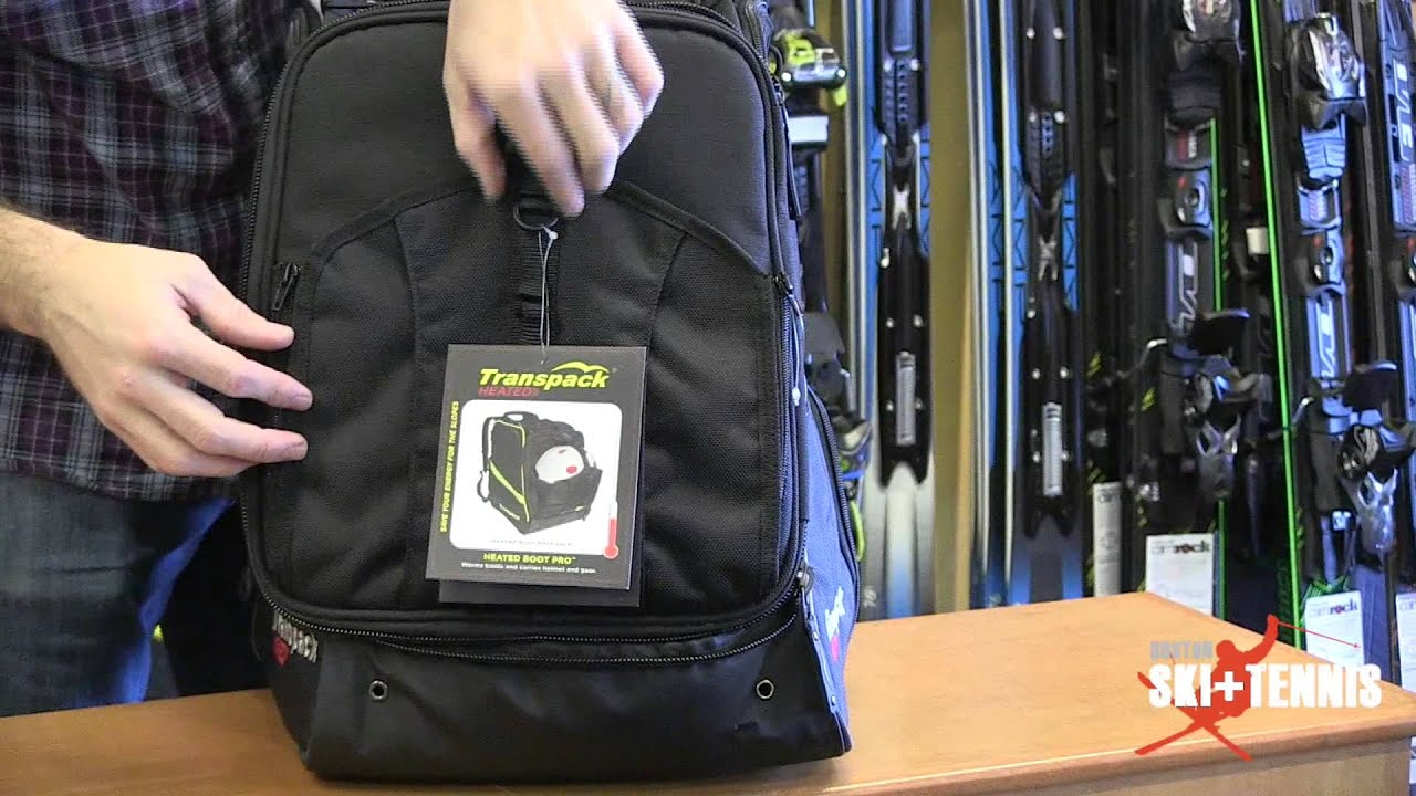 Trans Pack Heated Boot Bag - Review By Boston Ski + Tennis - YouTube 7bc75f0b721ac