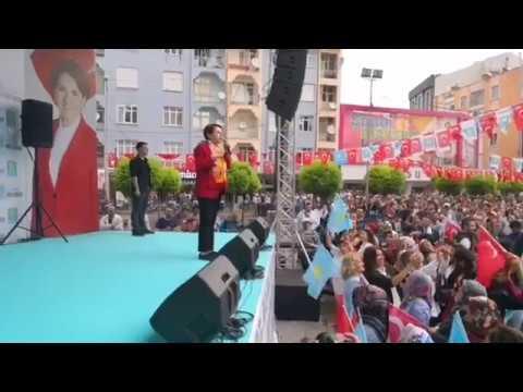 Meral Akşener Karaman Mitingi
