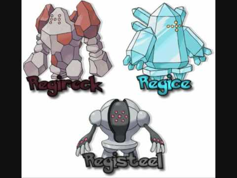 pokemon pearl how to get regirock regice and registeel