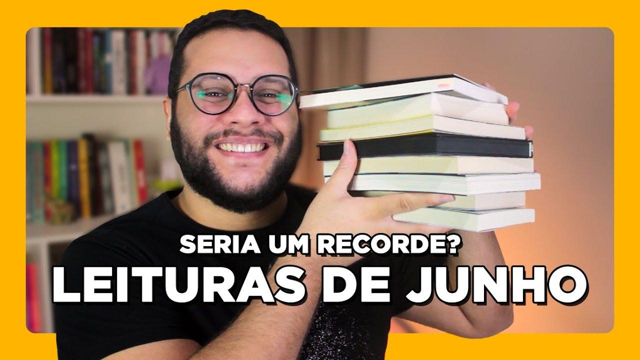 Leituras de junho (2020) antes da #MLI2020