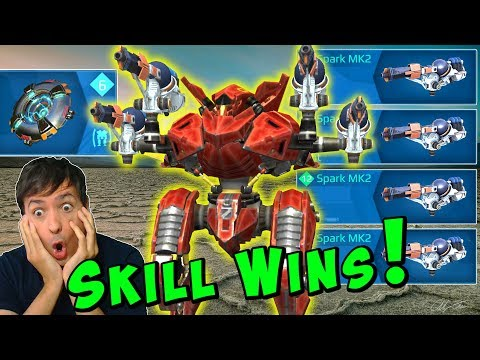 SKILL WINS - Intense Mk2 Skirmish Gameplay War Robots WR