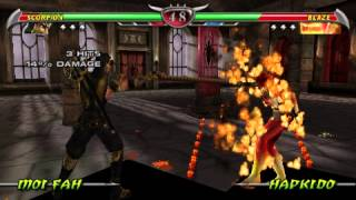 Обзор игры Mortal Kombat unchained    CКОРПИОН #1