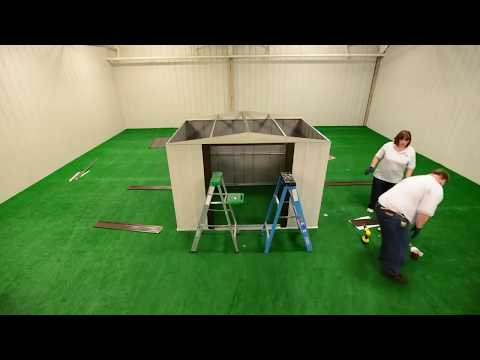 Come montare la casetta in lamiera da giardino Selmont Bricoshop24