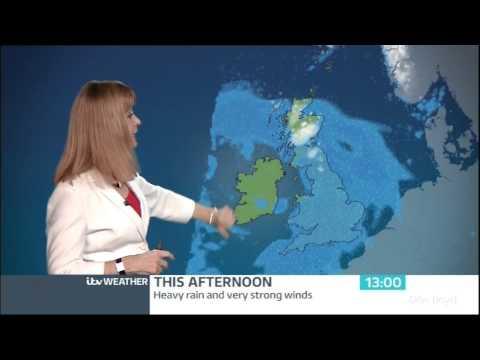 Siân Lloyd:- itv Weather