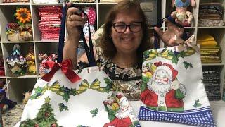 Bolsas – embalagens para presentes de Natal