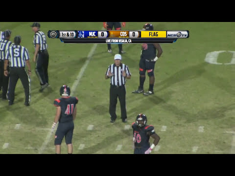 Modesto Junior College vs College of the Sequoias Football LIVE 10/14/17