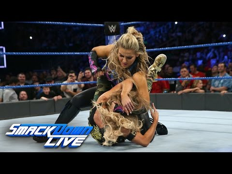 Natalya confronts Carmella and Nikki Bella confronts Natalya: SmackDown LIVE, Dec. 6, 2016