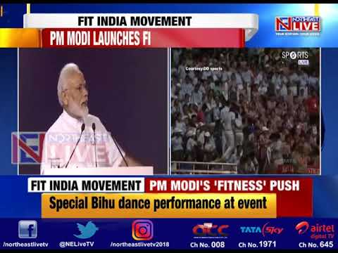 PM Modi's Fitness push, launches 'Fit India Movement' on National Sports Day Mp3