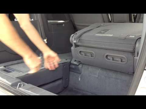 2007 Honda Odyssey -How to fold down the third row seats.