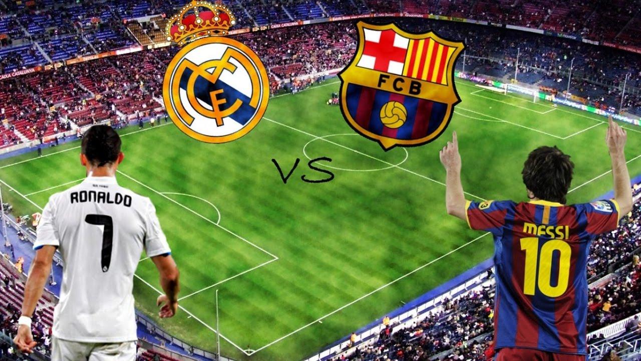 barcelona vs real madrid el clasico la liga 2016 2017 pes 2013 gameplay pc