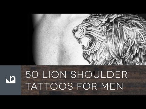 50 Lion Shoulder Tattoos For Men