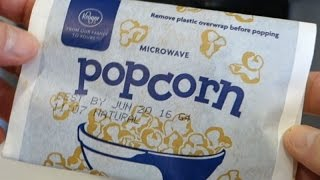 How to Microwave Popcorn, a little Secret
