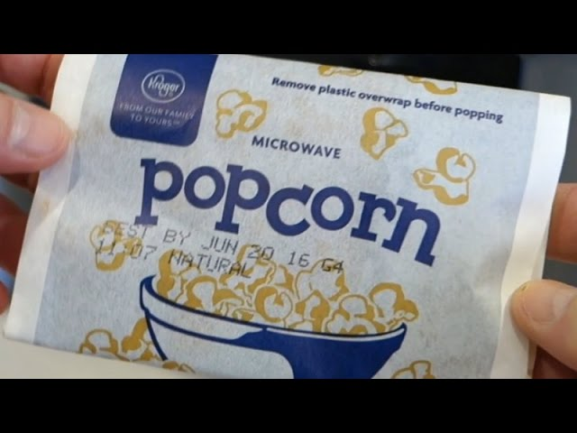 how to microwave popcorn a little