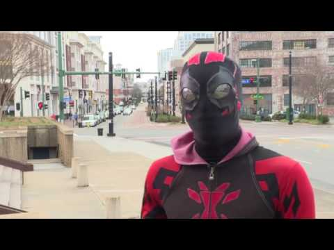 "Real Life Vigilante Named ""The Black Widow"" Patrols Norfolk, Va!"
