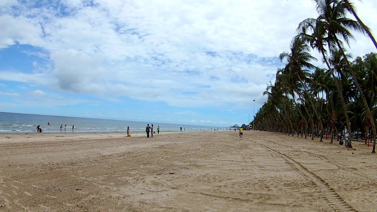 หาดบางแสนเป ดร ย ง หาดวอนนภาเป ดย ง ร ว วชายหาดบางแสนว นน ว นท เป ดหาดเป นว นแรก 1 ม ถ นายน 2563 Youtube กลางแจ ง ชายหาด