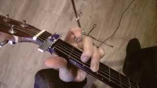 Cómo tocar gracias Pablo Alborán a la guitarra, acordes.
