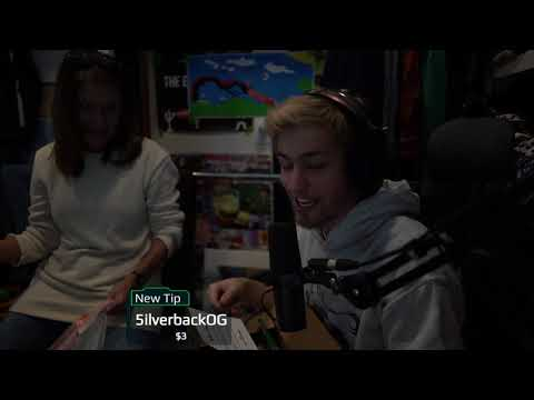 Sodapoppin opens Viewer Mail with his Mom (P.O. Box) #5